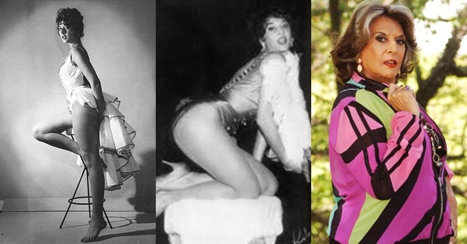 12.jun.2014 - A atriz Carmem Verônica, nome artístico de Carmelita Varella Alliz, completa nesta quinta-feira 81 anos.