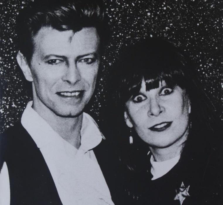 O encontro do cantor David Bowie e Rita Lee