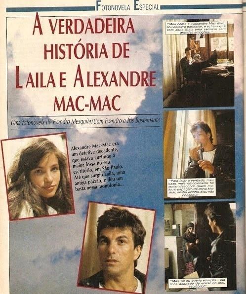 """Evandro Mesquita viveu um detetive decadente em """"A Verdadeira História de Laila e Alexandre Mac-Mac"""""""