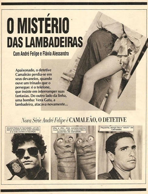 """Flávia Alessandra estrelou """"O Mistério das Lambadeiras"""""""