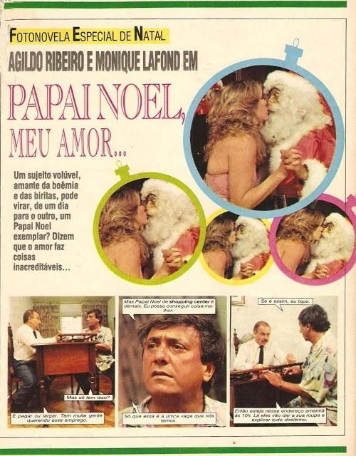 """O humorista Agildo Ribeiro fez ?Papai Noel Meu Amor"""""""