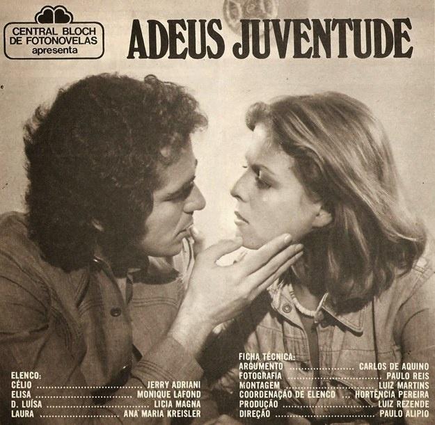 """Outro expoente da Jovem Guarda, Jerry Adriani estrelou """"Adeus Juventude"""""""