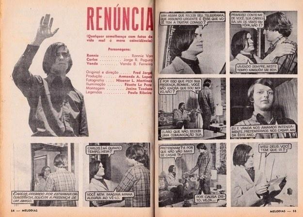 """Ronnie Von atuou em """"Renúncia"""", interpretando ele mesmo"""