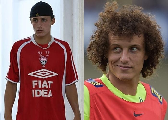 Em 2006, o zagueirão David Luiz, então com 19 anos, treinava pelo Vitória