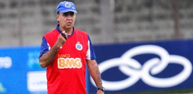Marcelo Oliveira, atual campeão brasileiro com o Cruzeiro, desconversa sobre seleção brasileira