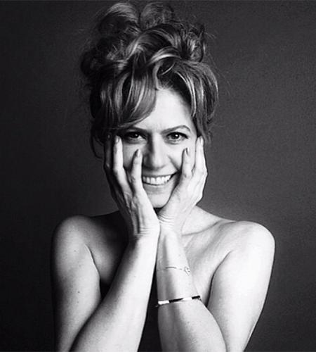"""21.jul.2014 - Aos 50 anos, a atriz Patricia Pillar, atualmente no ar como Angela Mahler, na novela global das onze """"O Rebu"""", aparece de topless em foto publicada pelo maquiador Duda Molinos no Instagram"""