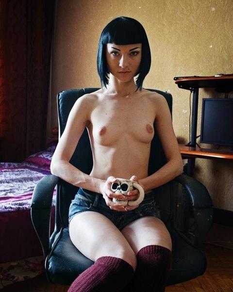 21.ago.2014 - Tanya Zatserkounaya, de 22 anos, também é integrante do Femen na Ucrânia