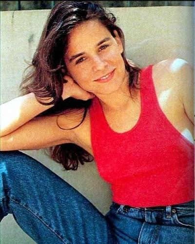 6.jan.1994 - A atriz Claudia Magno morreu aos 35 anos de idade, vítima de insuficiência respiratória provocada por complicações do vírus da Aids
