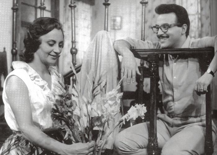 """1964 - Laura Cardoso, que já atuou em mais de 20 filmes, estreou no cinema em """"Imitando o Sol"""". A atriz atuou com Abilio Marques"""