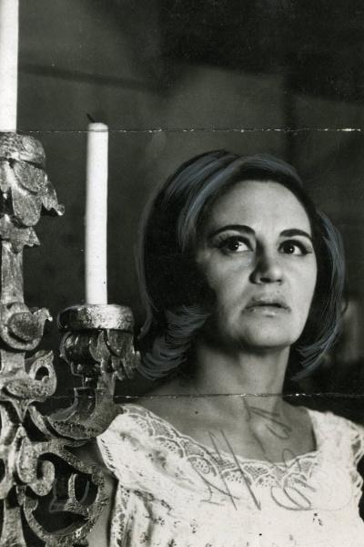 "1965 - Laura Cardoso viveu Nicole na novela ""Fatalidade"", da TV Tupi"