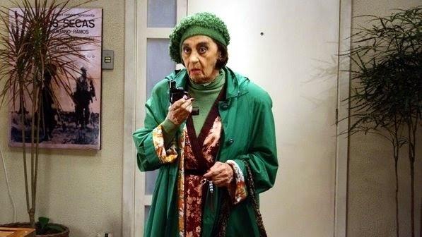 """2008 - Na imagem, Laura Cardoso em cena do filme """"A Casa da Mãe Joana"""""""
