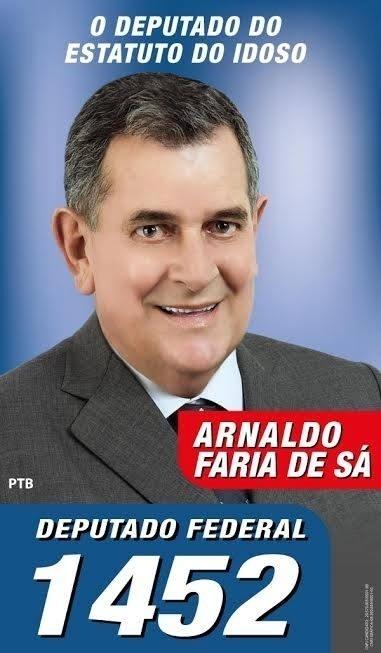 Arnaldo Faria de Sá, do PTB (Partido Trabalhista Brasileiro), teve 112.940 votos (0,54% dos votos válidos)