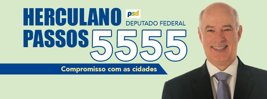 Herculano Passos, do PSD, teve 92.583 votos (0,44% dos votos válidos)