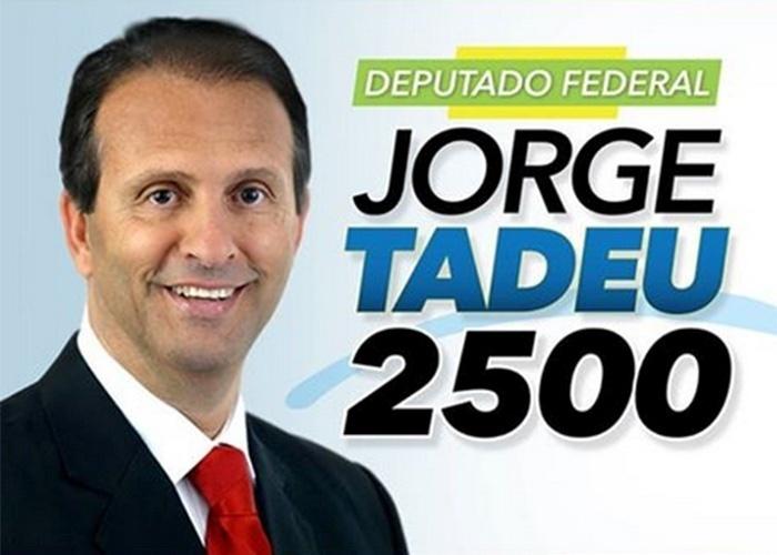 Jorge Tadeu, do DEM, teve 178.771 votos (0,85% válidos)