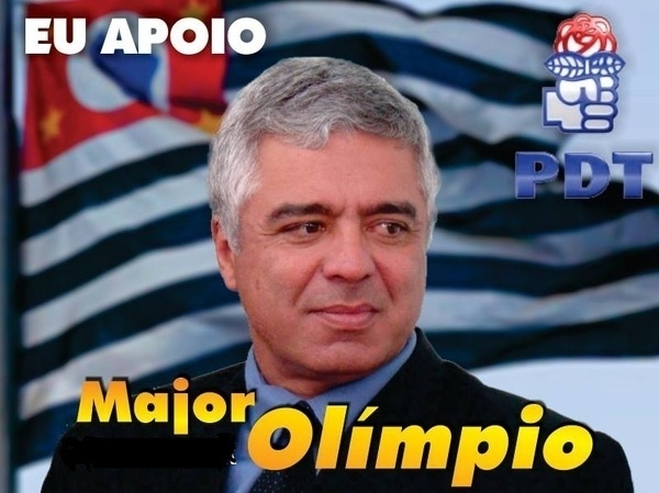 Major Olímpio Gomes, do PDT (Partido Democrático Trabalhista), teve 179.196 votos (0,85% válidos)