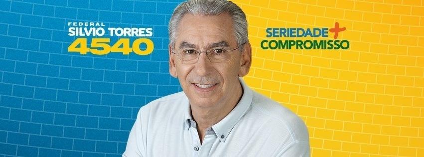 Silvio Torres, do PSDB, teve 175.310 votos (0,83% válidos)