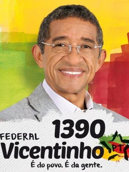 Vicentinho, do PT, teve 89.001 votos (0,42% dos votos válidos)