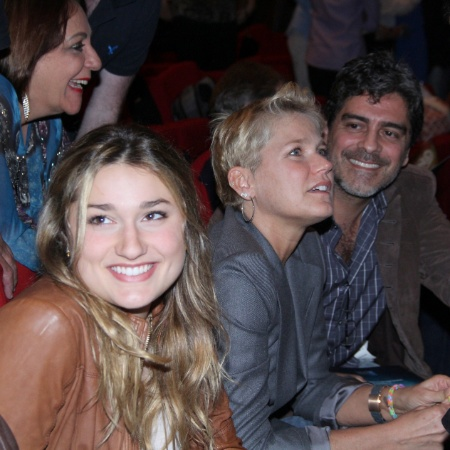 Sasha Meneghel, Xuxa e o namorado, Junno Andrade - AgNews