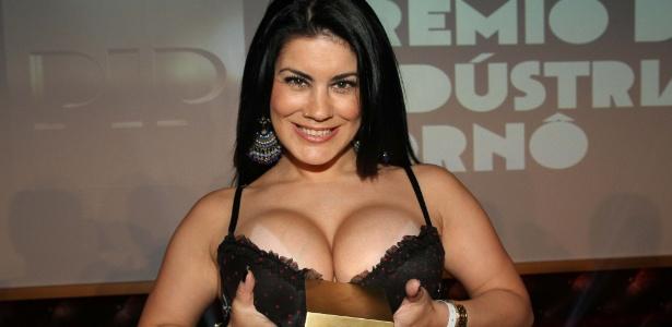 A premiada atriz pornô Bruna Ferraz, que integra o elenco da produtora Brasileirinhas - Amauri Nehn / Photo Rio News