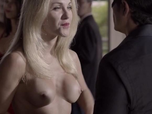 """14.dez.2014 - Cena de """"O Negócio"""", produção original da HBO"""