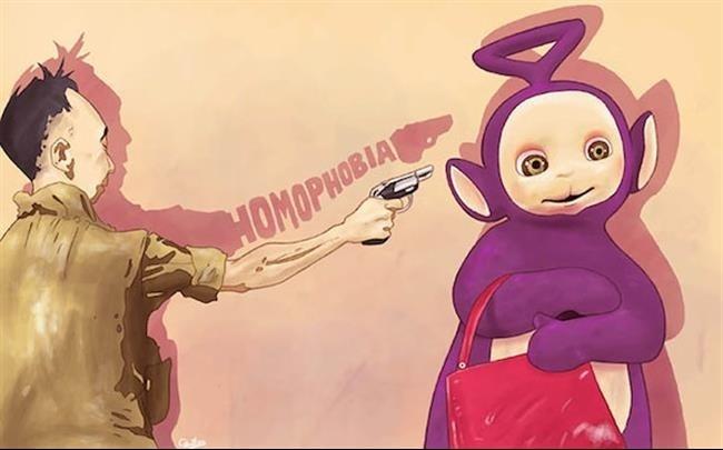 5.jan.2015 - A homofobia não foi esquecida pelo artista espanhol Luis Quiles, que resolveu traduzir alguns comportamentos do ser humano em ilustrações. Explorando ao extremo seu lado artístico, ele retrata temas polêmicos, e o resultado é incrível
