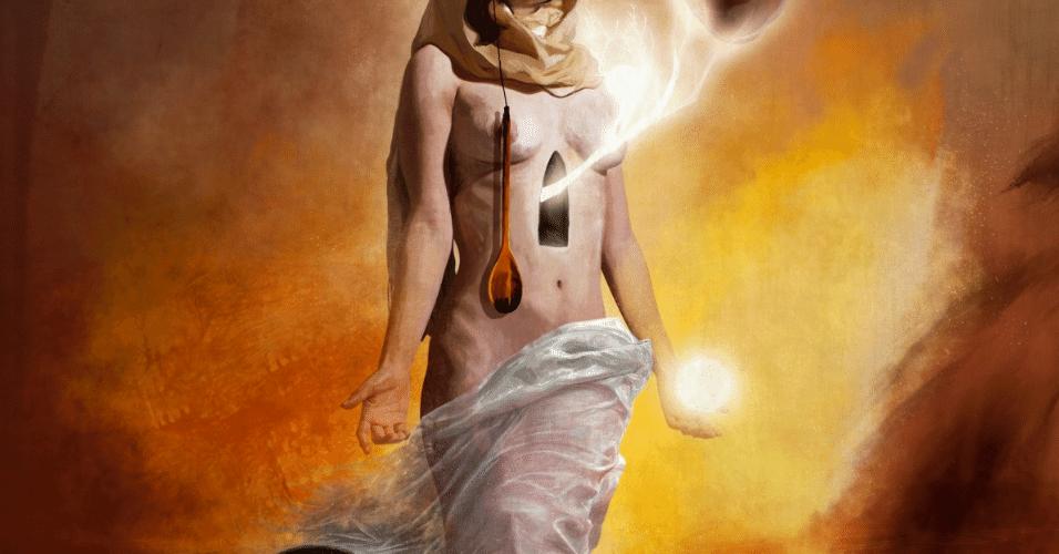 5.jan.2015 - O artista mexicano Pierre Fudaryli se inspirou na obra de Salvador Dalí para criar uma série de fotos manipuladas digitalmente que remetem ao surrealismo. Para o artista, a obra retrata a