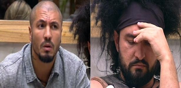 "Fernando e Marco disputam a permanência na casa do ""BBB15"""