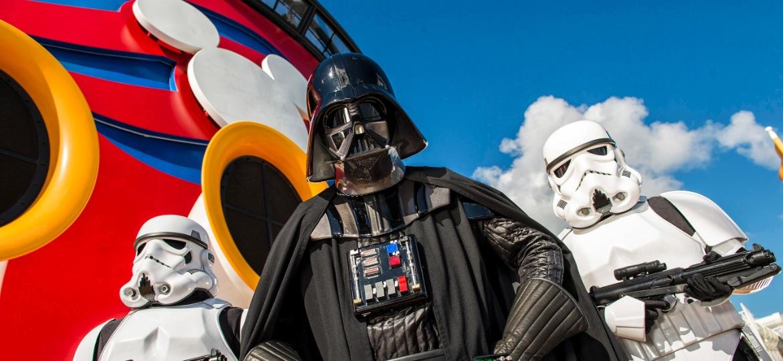 """Os personagens da saga """"Star Wars"""" ganharão seu próprio parque na Disney no próximo ano - Divulgação"""