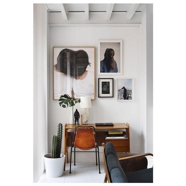 Inspiração para ambientes pequenos. Imagem postada no perfil Décor Aid, no Instagram