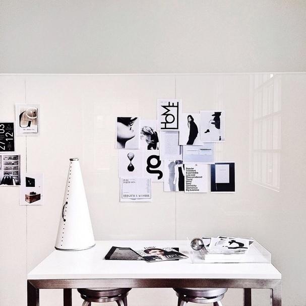 Para quem gosta de ambientes simples. Imagem postada no perfil Canary Grey, no instagram