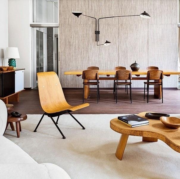 Sala de estar de um apartamento em Berlim. Imagem postada no perfil Décor Aid