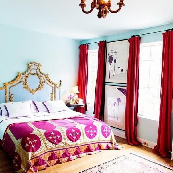 Inspiração para decoração de quarto. Imagem postada no perfil Casa da Valentina