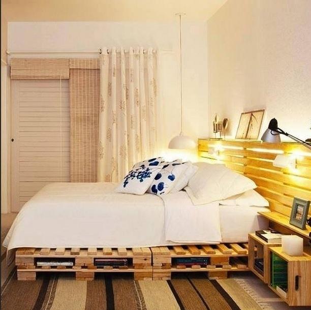Inspiração para decoração de quarto. Imagem postada no perfil Decora.me