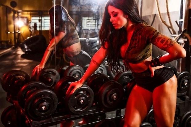 """23.mai.2015 - A ex-bailarina do """"Domingão do Faustão"""" quer seguir a carreira de atriz"""
