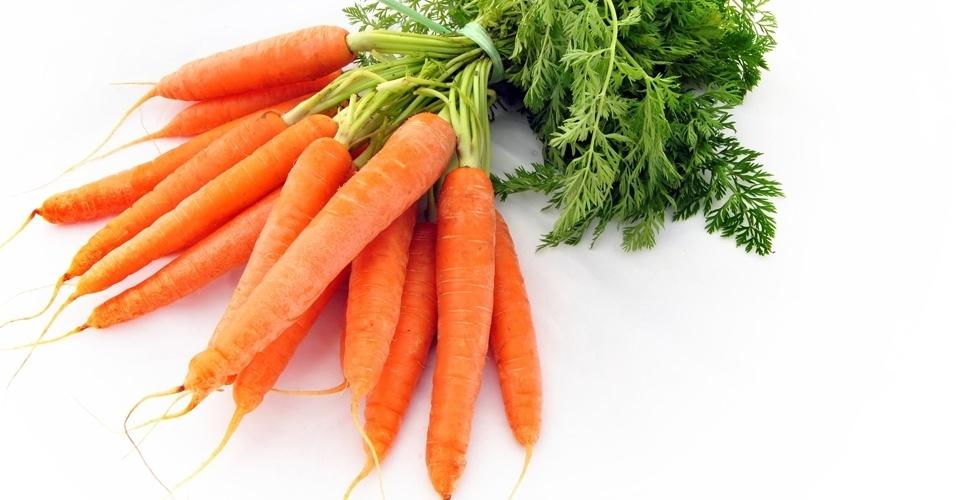 10. Cenoura, 41 calorias a cada 100 gramas