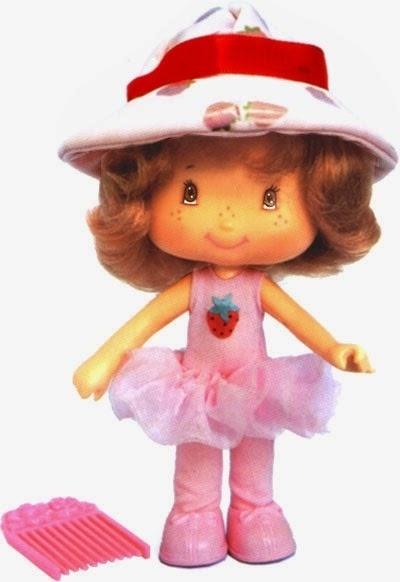 23. A boneca Moranguinho vinha com cheirinho de morango