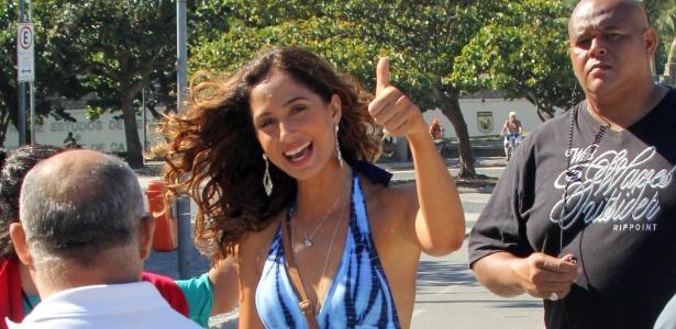 """Camila Pitanga teve três fotos nuas publicadas na """"Playboy"""" sem autorização"""