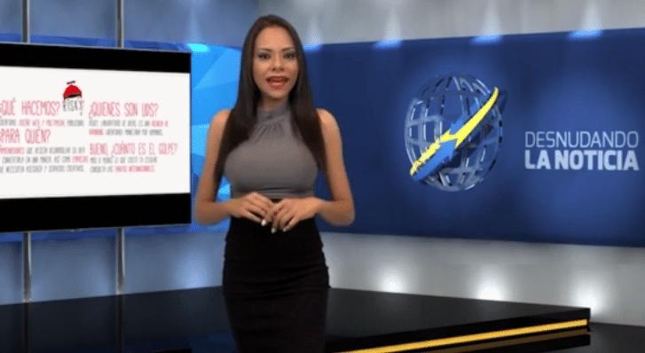 14.jun.2015 - A apresentadora inicia o telejornal com uma notícia sobre tecnologia...