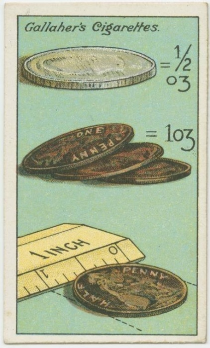 14. Use moedas como réguas: para medir pequenas superfícies, você pode usar uma moeda como régua. Só é preciso saber previamente o diâmetro da moeda. Na verdade, a dica vale para qualquer objeto do dia a dia. Por exemplo: uma nota nova de R$ 2 mede 12cm x 6,5cm. Uma pilha AA tem cerca de 5cm. Um cartão tem crédito tem 8,5cm x 5,4cm. Ah, sim, e a moeda de R$ 1 mede 27 milímetros. Memorizou?