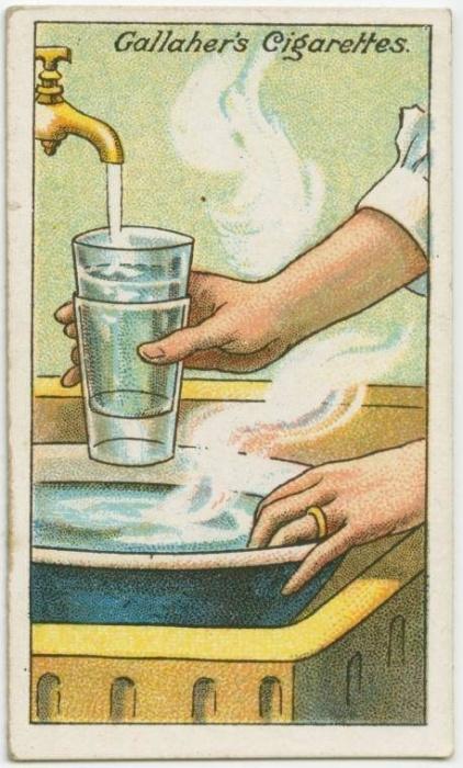 18. Como separar copos grudados: não tente forçar - apenas encha o copo de cima com água fria e mergulhe o de baixo em água morna