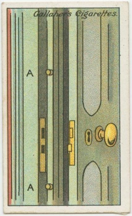 7. Como ajustar uma porta: se a porta não está se encaixando bem no batente, cole pedaços de rolha para dar a distância correta