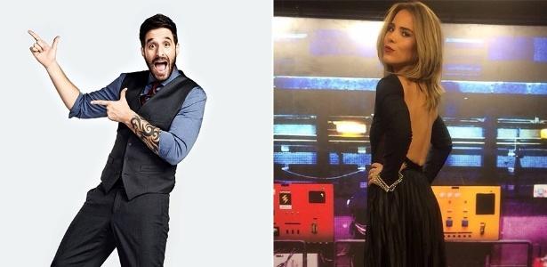 O humorista Rafinha Bastos e a cantora Wanessa Camargo - Montagem/Divulgação/Band/Reprodução/Instagram