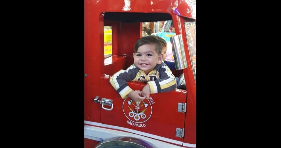 Karina enviou foto do filho Deivet, de um ano e oito meses, de São Paulo (SP)