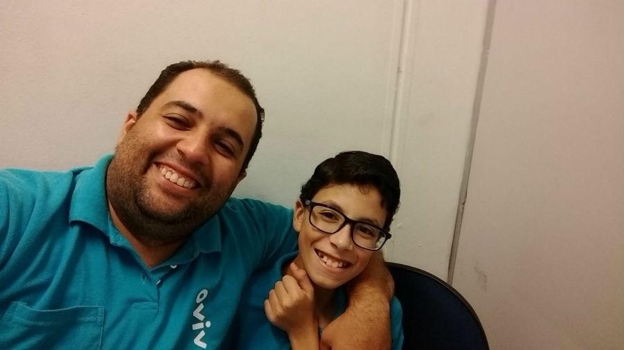 De Guarulhos (SP), Christian e Eduardo, em foto enviada pelo Antônio Bento