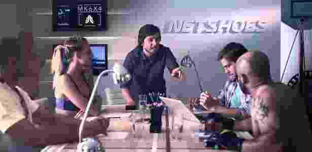 Netshoes - Reprodução/YouTube - Reprodução/YouTube