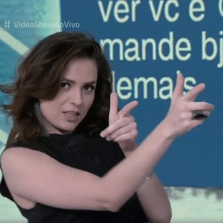 Monica iozzi relembra sada do video show me senti sem reproduotv globo stopboris Choice Image