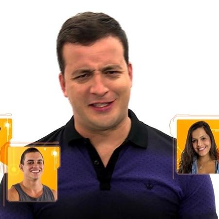 """Rafael Cortez comanda o quadro """"BBB Sem Moderação"""" na nova temporada do reality da Globo - Reprodução/TV Globo"""