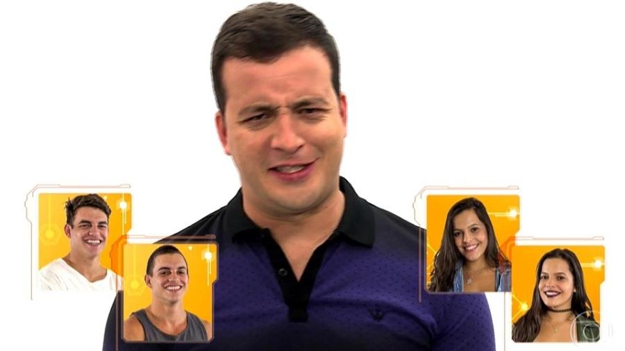 """Rafael Cortez é uma das novidades da 17ª edição do """"BBB"""" - Reprodução/TV Globo"""