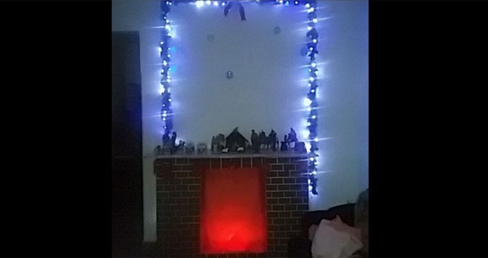 @lorenaves também compartilhou sua decoração de Natal com o BOL