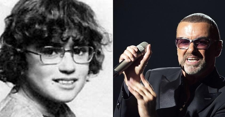 27.jul.2015 - O cantor George Michael cresceu e mudou até o penteado